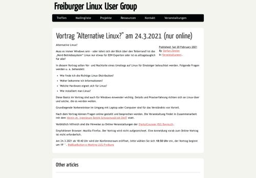Freiburger Linux User Group